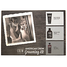 Buy American Crew Grooming Kit Online at johnlewis.com