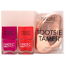 Buy Nails Inc Sole Survivor Tootsie Tamer Foot File Nail Kit Online at johnlewis.com