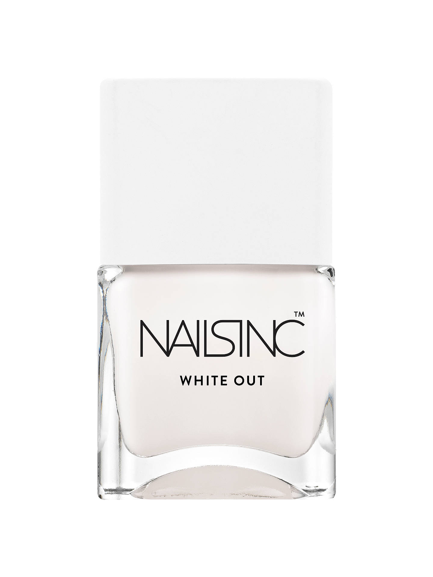 Nails Inc White Out Nail Polish 14ml Online At Johnlewis