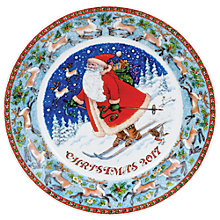 Buy Dunoon Christmas Plate 2017, Multi Online at johnlewis.com