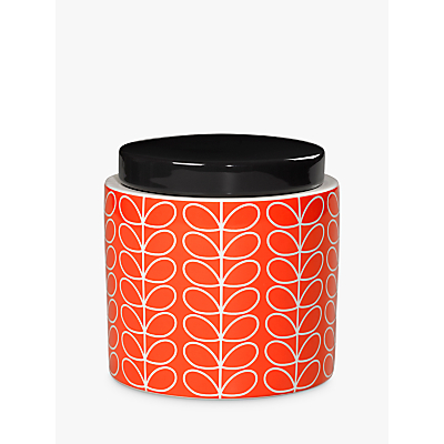 Orla Kiely Linear Stem Kitchen Storage Jar, 1L