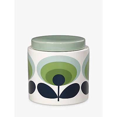 Orla Kiely 70s Retro Flower Kitchen Storage Jar, 1L