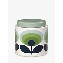 Buy Orla Kiely 70s Retro Flower Kitchen Storage Jar, 1L Online at johnlewis.com