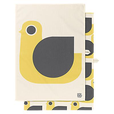 Orla Kiely Hen Tea Towel, Pack of 2