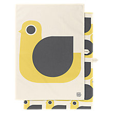 Buy Orla Kiely Hen Tea Towel, Pack of 2 Online at johnlewis.com