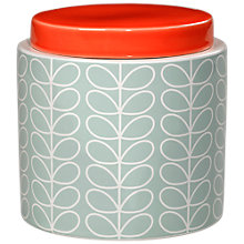 Buy Orla Kiely Linear Stem Kitchen Storage Jar, 1L Online at johnlewis.com
