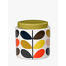 Buy Orla Kiely Multi Stem Storage Jar, 1L Online at johnlewis.com