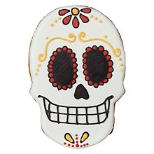 Buy Halloween Day of the Dead Skull Biscuit, 140g Online at johnlewis.com