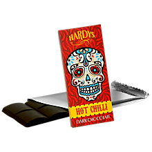 Buy Hardys Hot Chilli Chocolate, 80g Online at johnlewis.com
