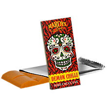 Buy Hardys Demon Chilli White Chocolate, 80g Online at johnlewis.com