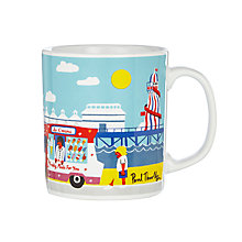 Buy John Lewis National Treasures Beside the Seaside Mug, Multi Online at johnlewis.com
