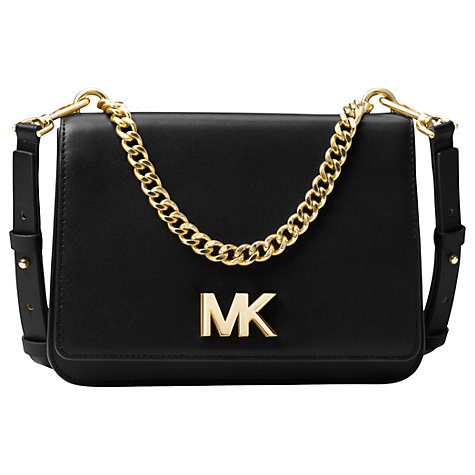 cb2a9f983ae buy michael michael kors mott leather large shoulder bag online at johnlewis  ...