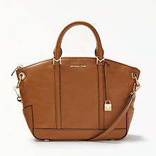 Buy MICHAEL Michael Kors Beckett Leather Medium Grab Bag Online at johnlewis.com