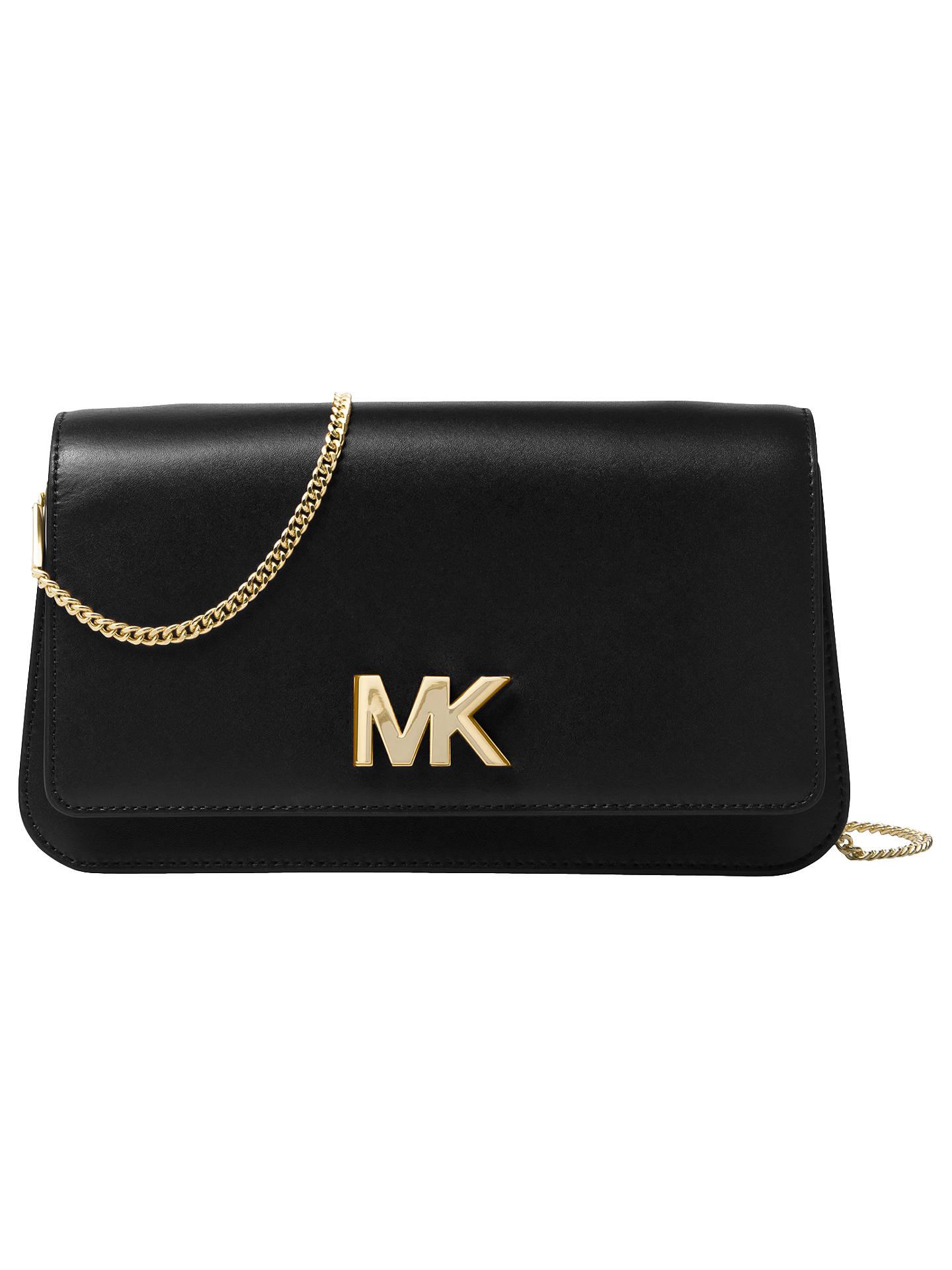 64b10573064b Buy MICHAEL Michael Kors Mott Leather Large Clutch Bag