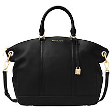 Buy MICHAEL Michael Kors Beckett Leather Large Grab Bag Online at johnlewis.com
