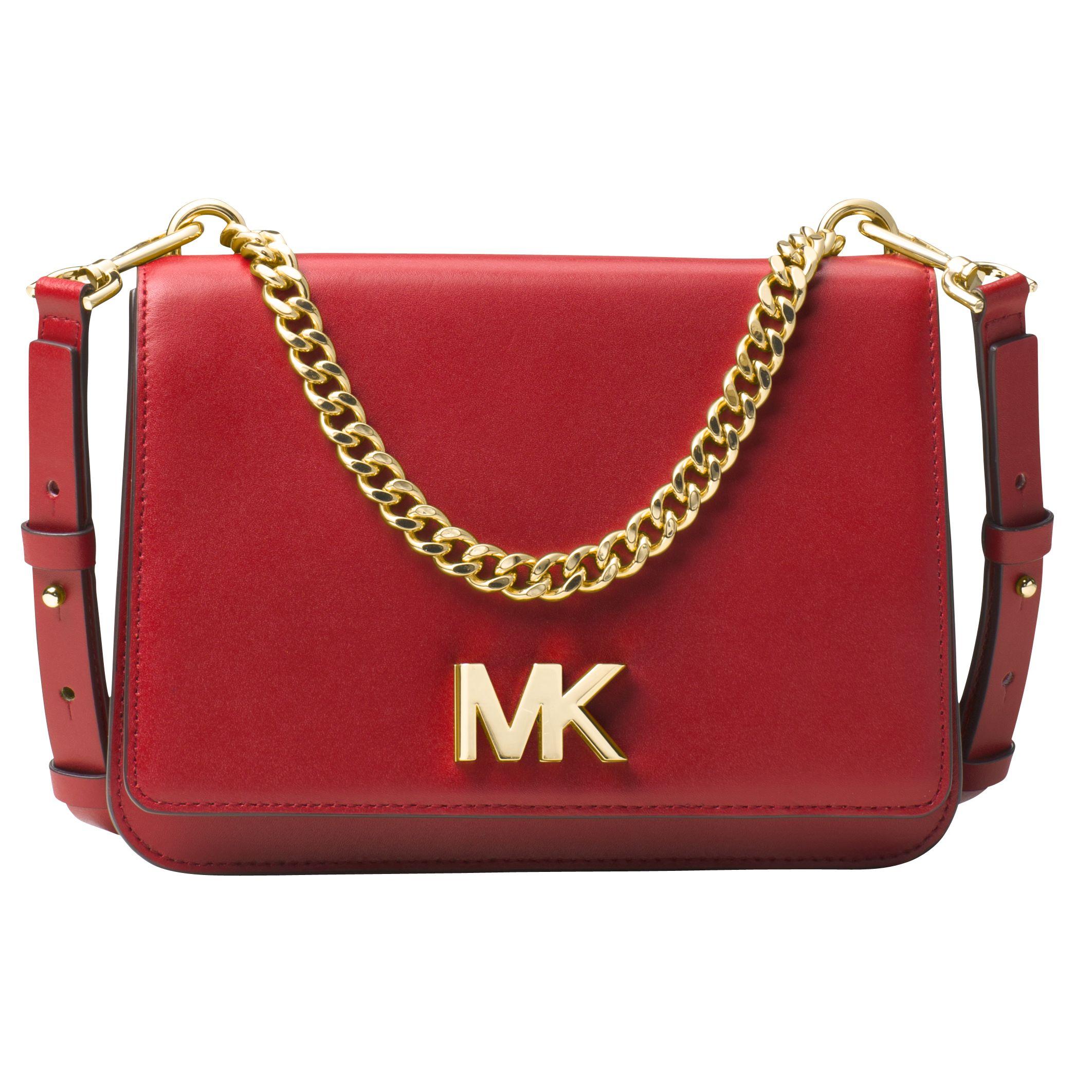c6af2741b974 MICHAEL Michael Kors Mott Leather Large Shoulder Bag at John Lewis    Partners
