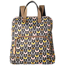 Buy Orla Kiely Mini Wild Daisy Backpack, Multi Online at johnlewis.com
