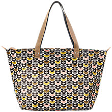Buy Orla Kiely Mini Wild Daisy Zip Shopper Bag, Multi Online at johnlewis.com