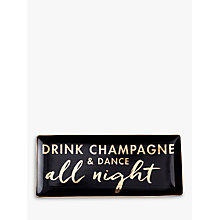 Buy Rosanna Drink Champagne Tray Online at johnlewis.com