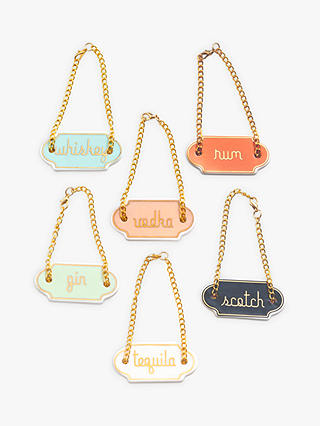 Buy Rosanna Decanter Tags, Set of 6 Online at johnlewis.com