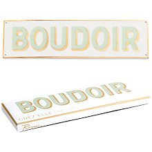 Buy Rosanna Boudoir Plaque Online at johnlewis.com