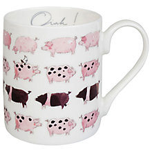 Buy Sophie Allport Pig Mug, 275ml Online at johnlewis.com