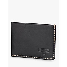 Buy Stanley Leather Card Holder, Black Online at johnlewis.com