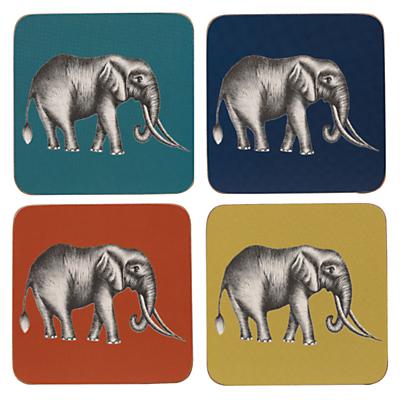 Harlequin Savanna Coasters, Pack of 4