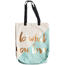 Buy Rosanna Do What You Love Tote Bag Online at johnlewis.com