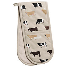 Buy Sophie Allport Cow Double Oven Glove Online at johnlewis.com