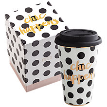 Buy Rosanna Chic Happens Travel Mug Online at johnlewis.com