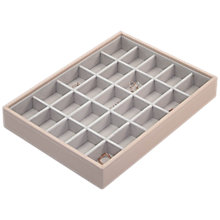 Buy Stackers Classic Criss Cross Section Jewellery Box Online at johnlewis.com