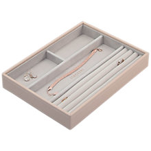 Buy Stackers Classic Ring & Bracelet Section Jewellery Box Online at johnlewis.com