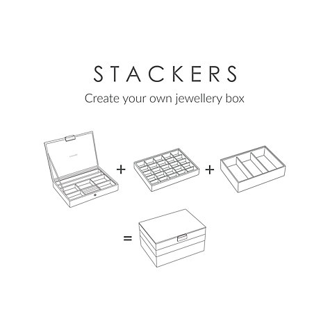 Buy stackers jewellery box lid john lewis for Stackers jewelry box canada
