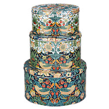 Buy Morris & Co Cake Tins, Set of 3 Online at johnlewis.com