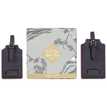 Buy Ted Baker Blue Luggage Tab, Pack of 2 Online at johnlewis.com