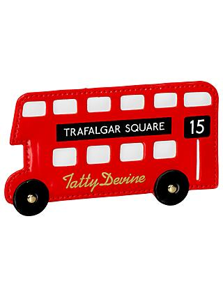 Tatty Devine London Bus Card Holder, Red