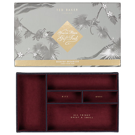 Buy ted baker dark cadet desk tidy john lewis buy ted baker dark cadet desk tidy online at johnlewis gumiabroncs Image collections
