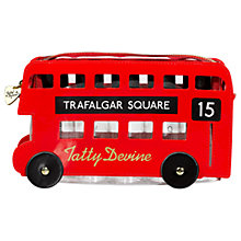 Buy Tatty Devine London Bus Wash Bag, Red Online at johnlewis.com