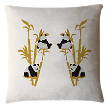 Buy Fenella Smith Panda Cushion Online at johnlewis.com