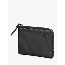 Buy Stanley Zip Around Leather Wallet, Black Online at johnlewis.com