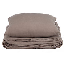 Buy John Lewis Cushion and Throw Bundle, Grey Online at johnlewis.com