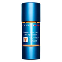 Buy ClarinsMen Tanning Booster, 15ml Online at johnlewis.com