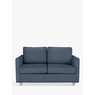 John Lewis Barlow Small 2 Seater Sofa Bed with Pocket Sprung Mattress, Light Leg