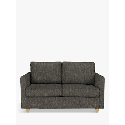 John Lewis Barlow Small 2 Seater Sofa Bed with Pocket Sprung Mattress, Light Leg
