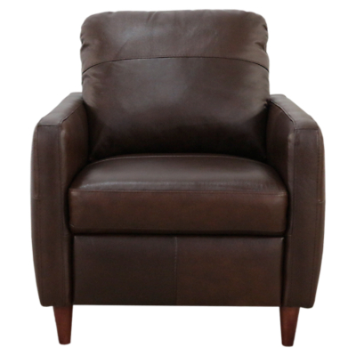 John Lewis Dalston Leather Armchair