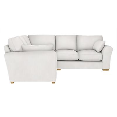 John Lewis Leon Corner Sofa, Light Leg