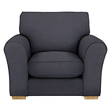 Buy John Lewis Leon Armchair, Light Leg Online at johnlewis.com