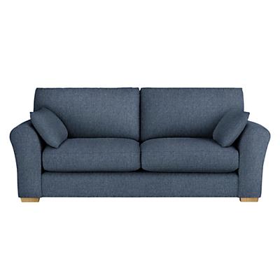 John Lewis Leon Large 3 Seater Sofa, Light Leg