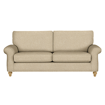 John Lewis Hannah Grand 4 Seater Sofa, Light Leg